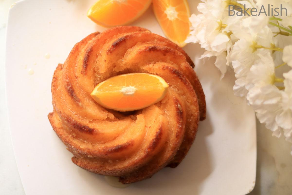Moist Butter Orange Pound Cake Recipe