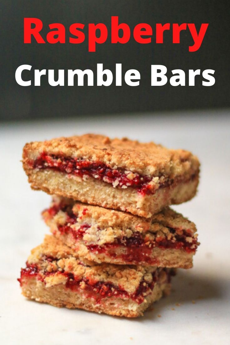 This Raspberry Crumble is the best crumble recipe in town. These berry crumble bars got a buttery, crisp texture with a sweet and sour raspberry tart filling