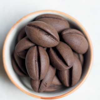 Coffee bean cookies are the perfect snack for coffee lovers