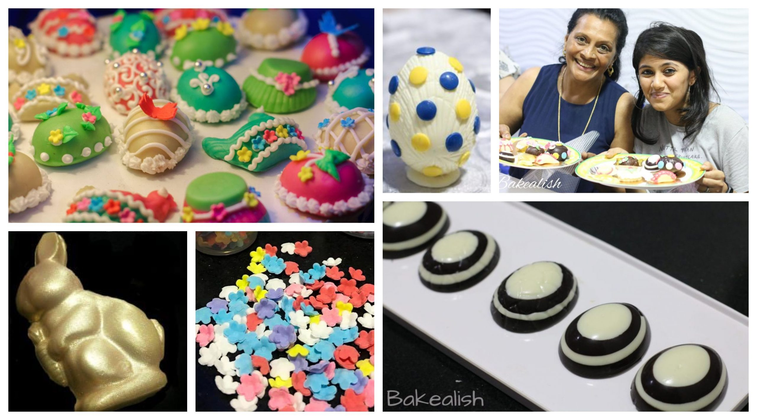 Join us at the Workshop on all about Easter Eggs- Mumbai, Goa. During this class, you will learn different types of Easter Eggs and decorating techniques. From the making of the dough to royal icing decor, all of it in just one workshop. Don't miss the workshop that happens only once a year