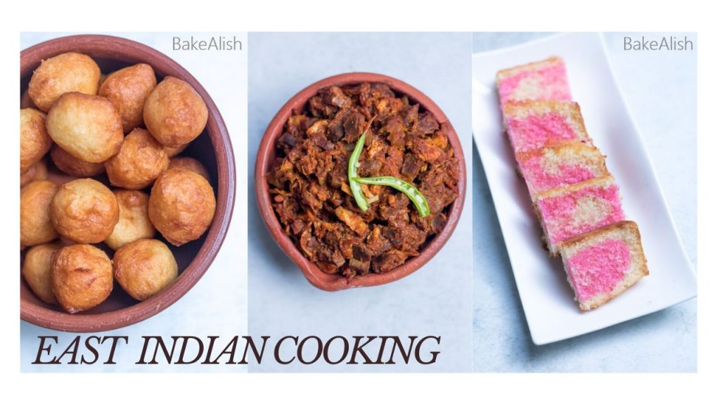 online Workshop on East indian cooking with fugias, chicken sorpotel and malai cake