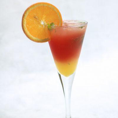 Orange Sunset Mocktail