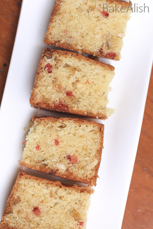 Rava cake is an authentic overnight soaked cake with fruits in it