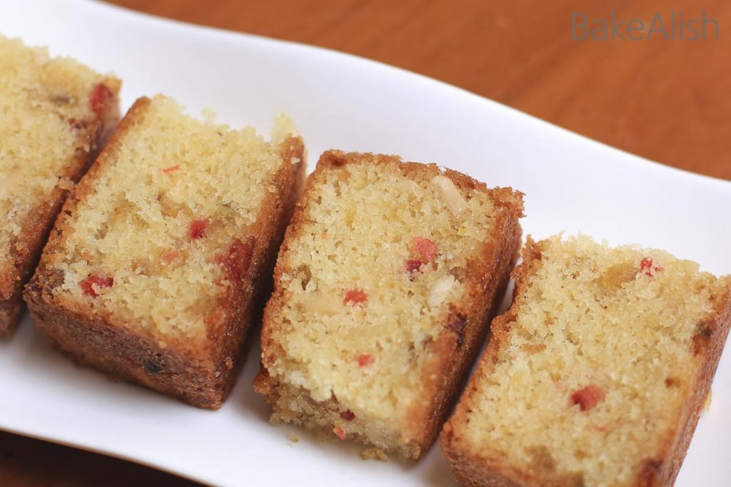 Rava fruit cake is a moist sooji or semolina cake that is authentic and traditional