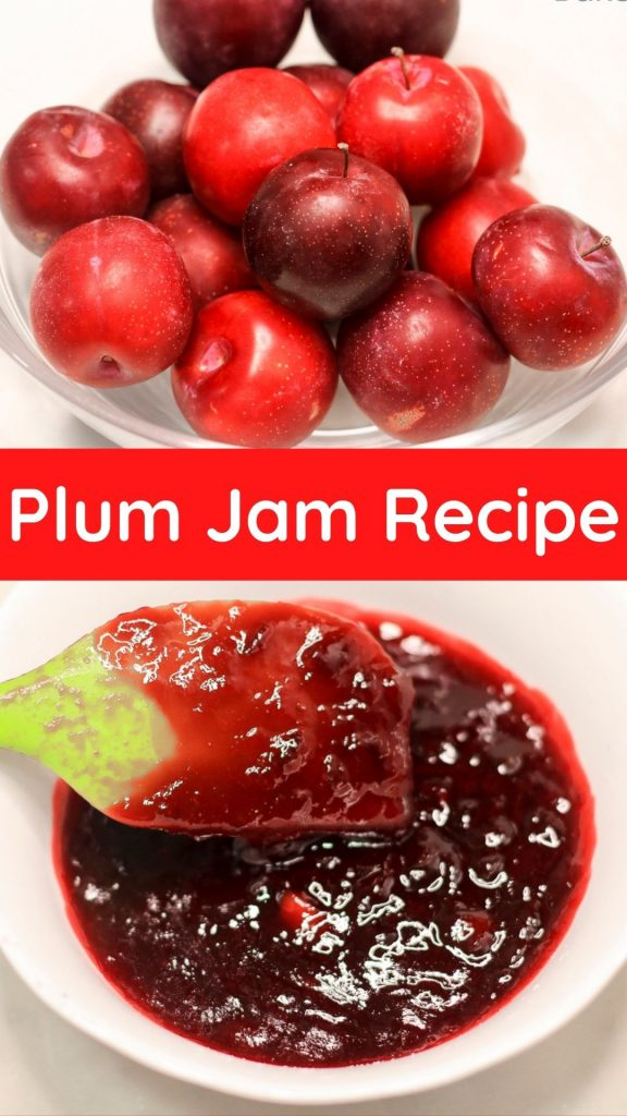 The best plum jam recipe made from fresh plums