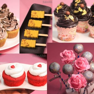 Online Workshop On Cupcakes, Frostings, Cake Pops & Cakesicles